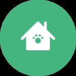 אייקון ירוק של בית